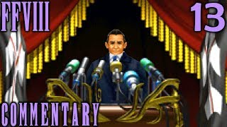 Final Fantasy VIII Walkthrough Part 13 - The Sorceress & The President