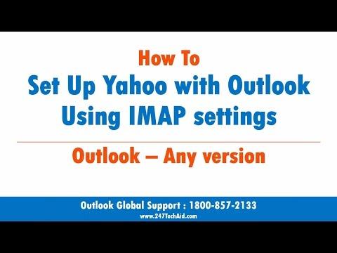 How to setup Yahoo with Outlook Using IMAP settings