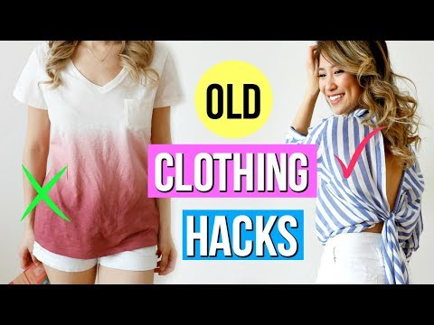 9 DIY Clothing Hacks EVERY Girl Must Try!