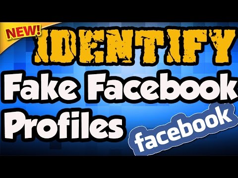Fake Facebook Account - How To Find | Identify Fake Profiles On Facebook | Easy facebook tracking