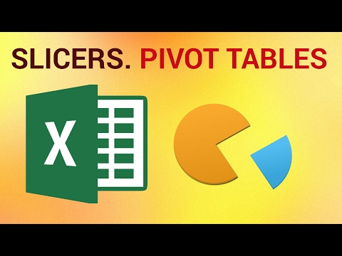How to Use Slicers for Pivot Tables in Excel 2016