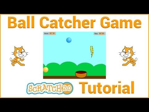Scratch Tutorial - Ball Catcher Game