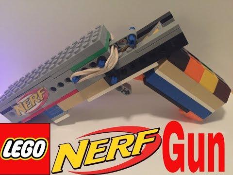 Working LEGO Nerf Gun