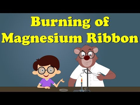 Burning of Magnesium Ribbon Experiment | It's AumSum Time