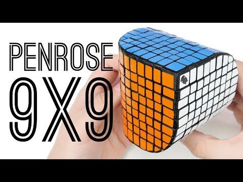 9x9 Penrose Cube Unboxing + Solve! | Ogre Cubes