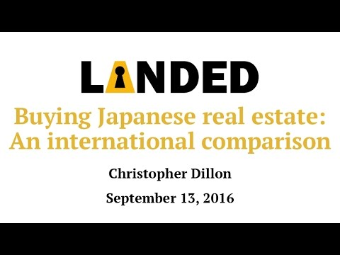 Buying Japanese real estate: An international comparison