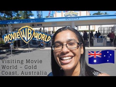 A day at Movie World, Gold Coast, Australia   Theme park in Australia