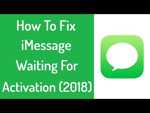 Fix iMessage Waiting For Activation Error In iPhone & iPad iOS 10, iOS 11 or Earlier