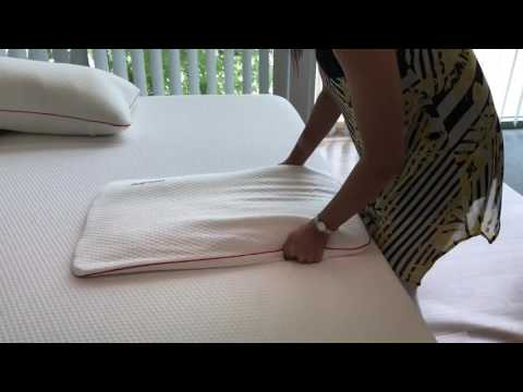 How to fluff a compressed memory foam pillow