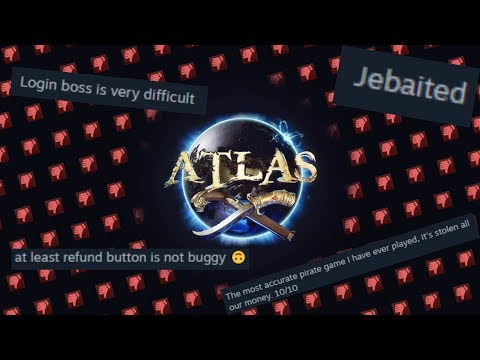 Probably the lowest rated game on Steam right now (ATLAS)   LIVE