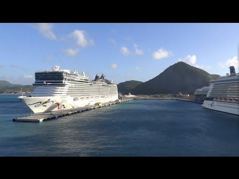 Philipsburg, Sint Maarten - Independence of the Seas Arrival HD (2013)