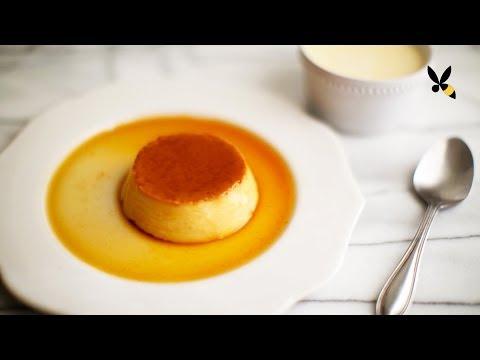 Flan Creme Caramel Custard - HoneysuckleCatering