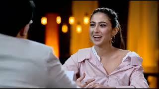 kartik aryan reaction on Sara ali khan