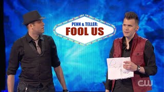 Penn Teller Fool Us Joel Meyers Spidey