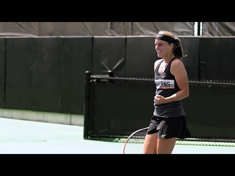Texas Women's Tennis vs McNeese State Highlights [May 11, 2018]
