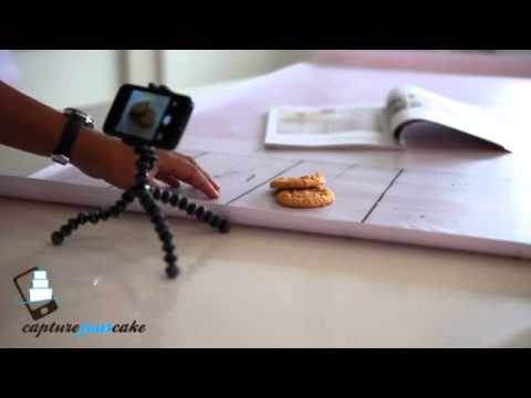 Using photo backdrops for Better photos of your cakes