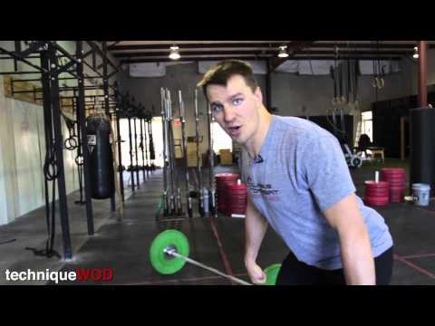 How to Do Hang Power Cleans - Technique WOD