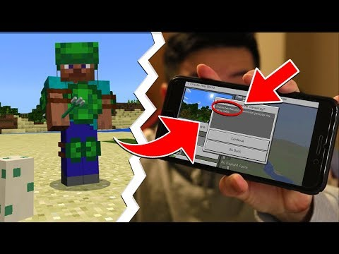 FINALLY! MCPE 1.3 Beta on iOS! - Minecraft Pocket Edition 1.3 Update