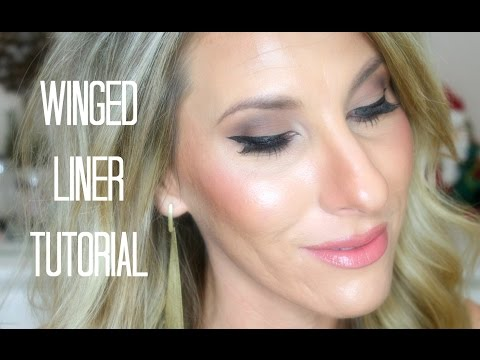 Simple Winged Liner For Beginners!