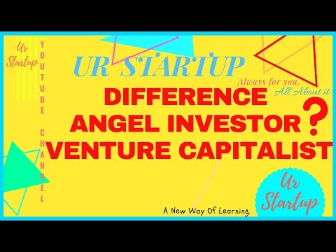 Difference between Angel Investor and Venture Capitalist || Hindi  ||
