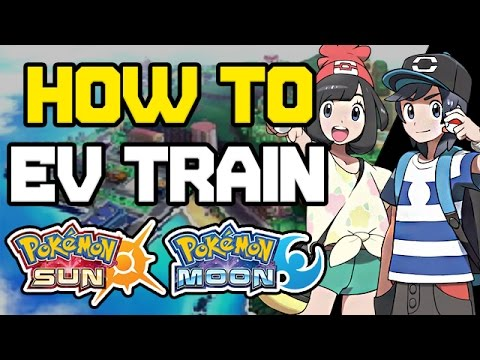 How to EV Train in Pokemon Sun and Moon