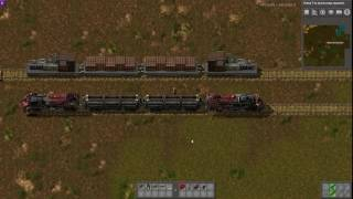 Factorio Mod Spotlight - Junk Train / Rails