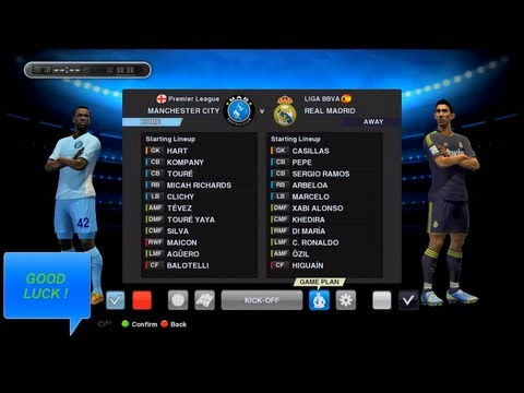PES 2013 - Best (Manchester City) Gameplan / Formation !!! (HD)