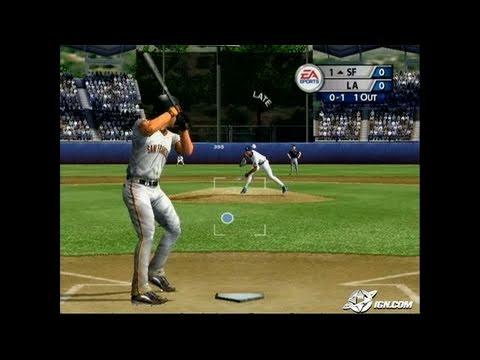 MVP Baseball 2005 GameCube Gameplay - You've got