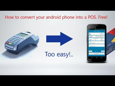 Miunic POS: Turn your Android phone into a mobile point of sale.  App for Stripe - Free!