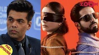 Karan finally REACTS to Udta Bollywood controversy |Ayushmann