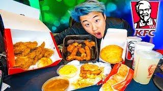 KFC Mukbang Challenge (ASMR)   Stove's Kitchen