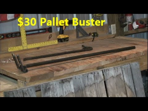 How to Pallet Breaking Tool