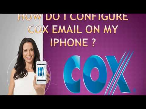 How do I Configure Cox email on iPhone ?