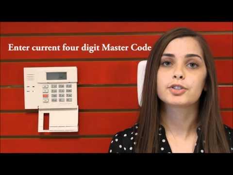 How to Change Master User Code - Honeywell 6150