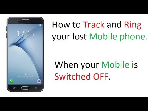 How to Find and Track your lost and Switched OFF phone - Hindi