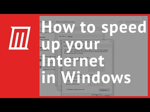 How to Speed Up Your Internet Connection in Windows