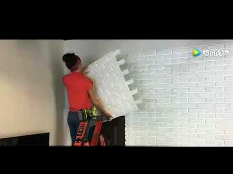 How to install faux decorative brick panels? www.denoncladding.com