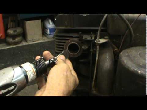 Small Engine Muffler Removal Tip