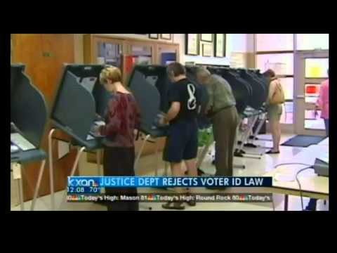 Feds reject Texas voter ID law