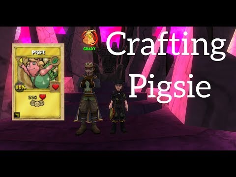 Wizard101 FARMING FOR PIGSIE REAGENTS! 25 Amber 10 Pigsie TC!