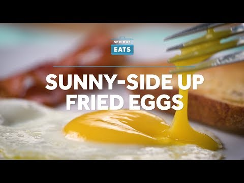 How to Make Sunny-Side Up Fried Eggs