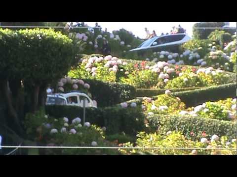 Herbies driving down Lombard street, Take 2. Eldorado 2010 run