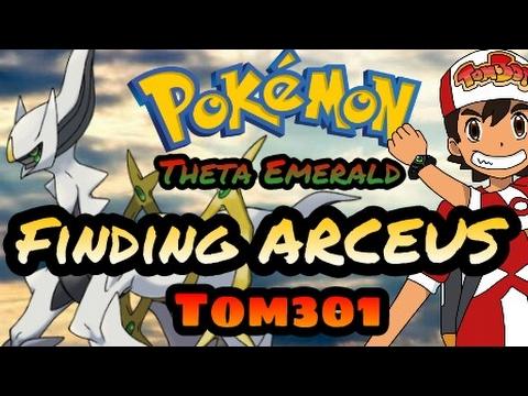 Steps to catch Arceus in Pokémon Theta Emerald Ex -  Tom301😇