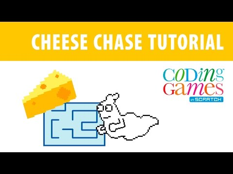 Coding Games in Scratch: Cheese Chase Tutorial