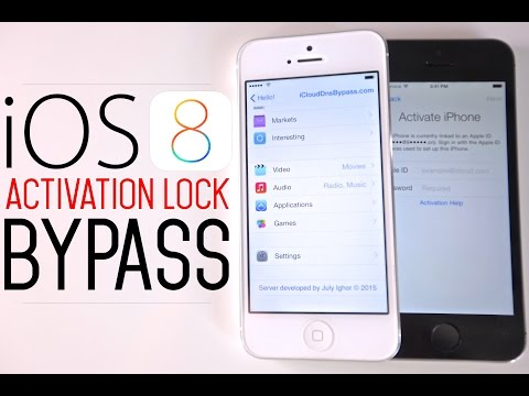 How To Bypass iOS 8 iCloud Activation Lock Screen on 8.1.3 / 8.1.2 / 8.1.1