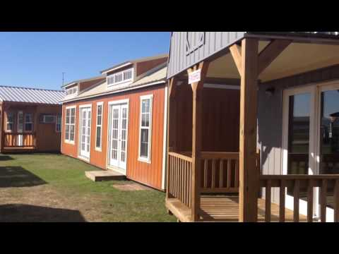 Derksen Cabin Shell, Park Model Home, Tiny Home, Shed