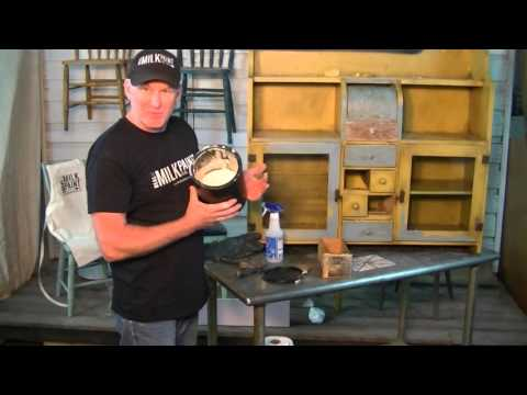 How to Easily Remove Milk Paint