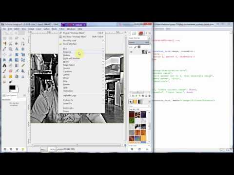 Gimp Scripting: Python Fu, Automating Workflows, coding a complete plug-in