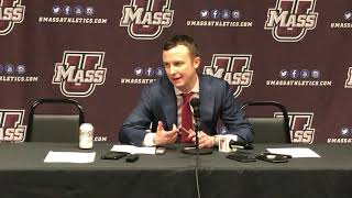 Men39s Basketball Post game Press Conference Coach McCall
