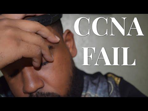 I Failed My CCNA Exam